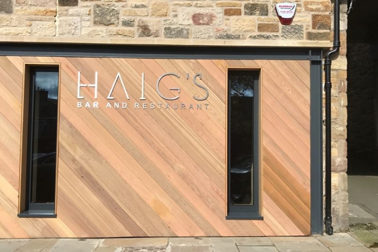 Haigs Bar & Restaurant, Midlothian - frontage